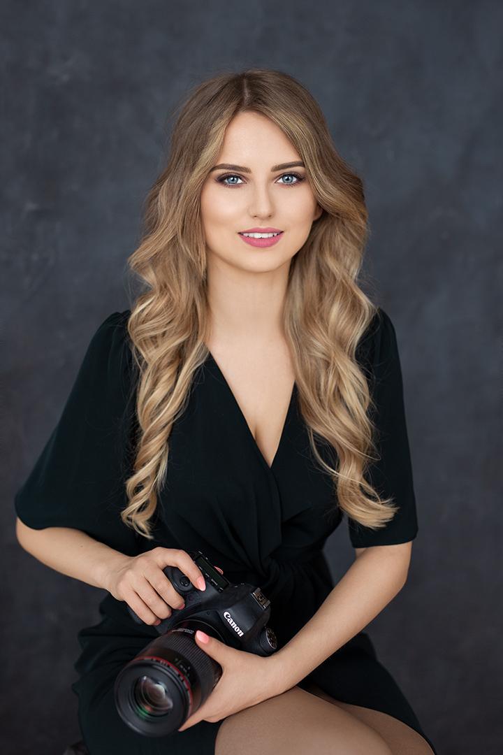 Natalia Łowicka fotograf zdjęcie portretowe.
