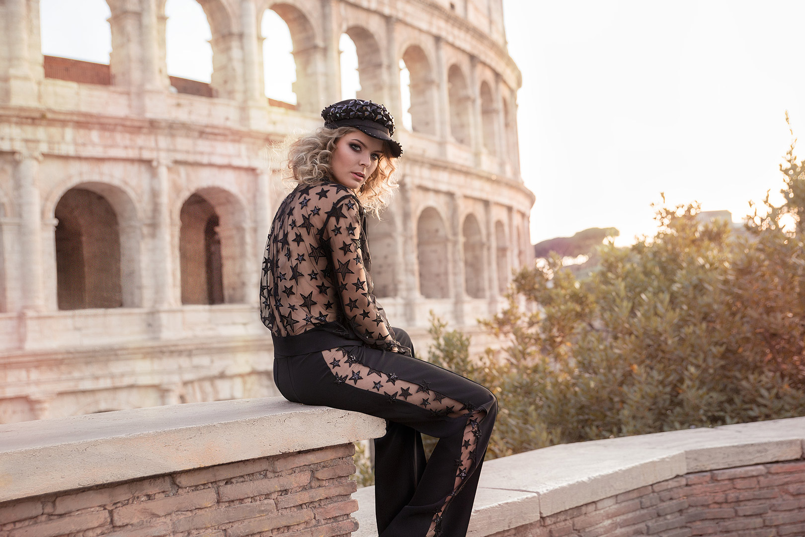 Dream portrait session experience in Rome