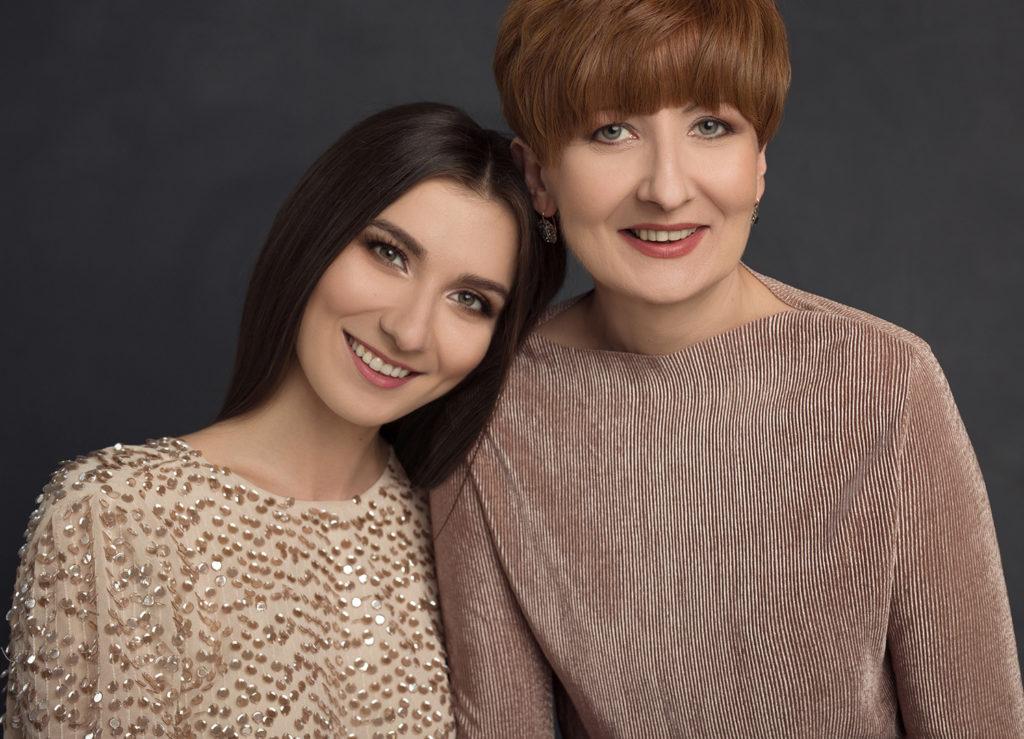 Alex Darg z mamą
